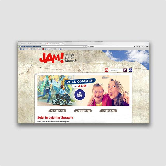 Portfolio: JAM! Leichte Sprache